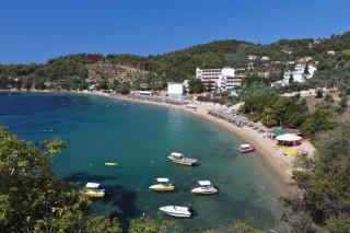 skiathos beach saint george achladies
