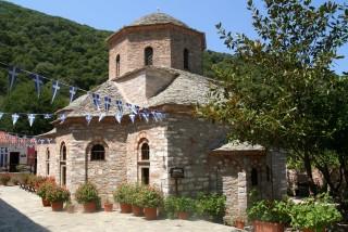 skiathos island saint monastery